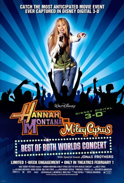 Hannah Montana/Miley Cyrus: Best of Both Worlds Concert Tour Image 1