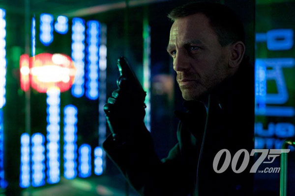 Daniel Craig as James Bond 23 Skyfall