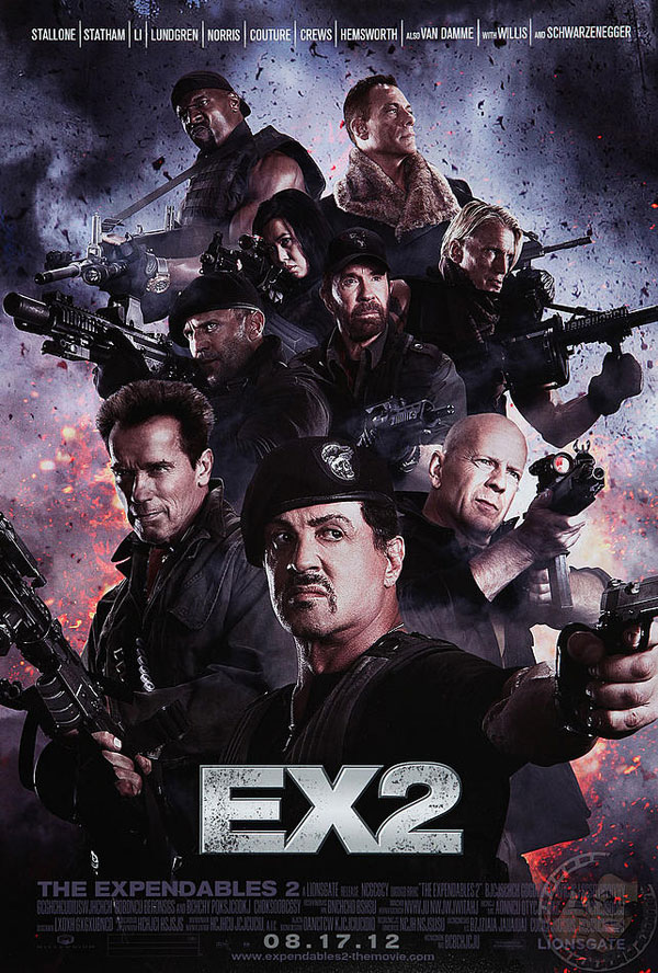 The Expendables 2 Image 1