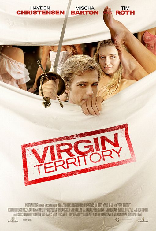 two new virgin territory movie posters