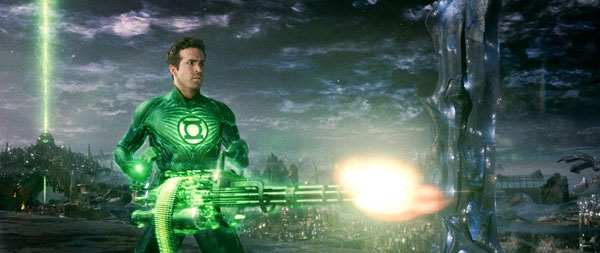 Green Lantern Gun