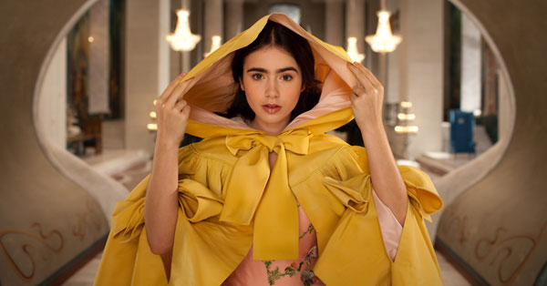 Lilly Collins as Snow White